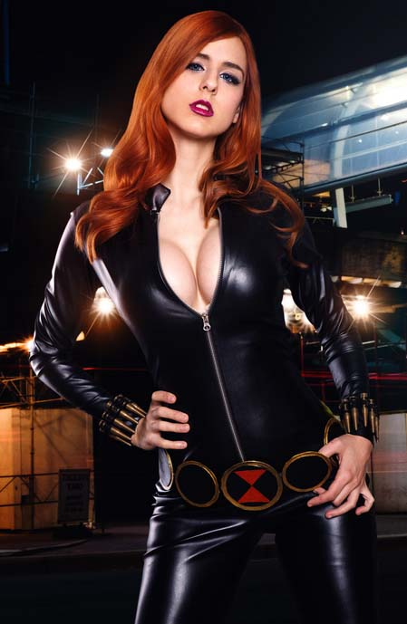 black widow cosplay costume classic edition
