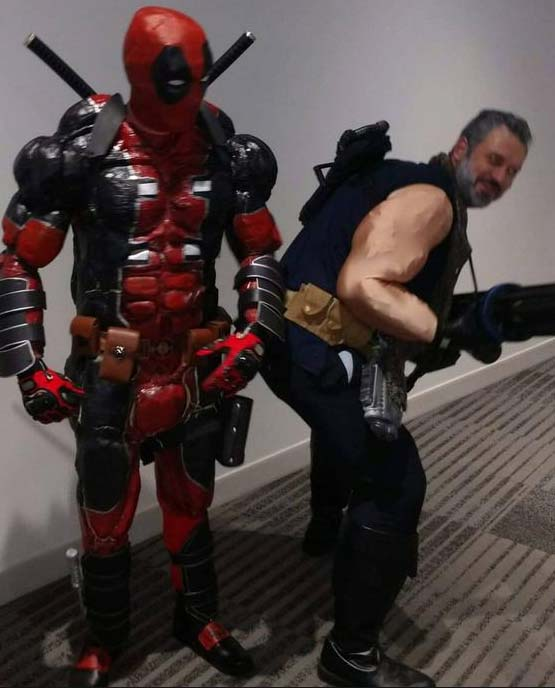 deluxe full set deadpool cosplay