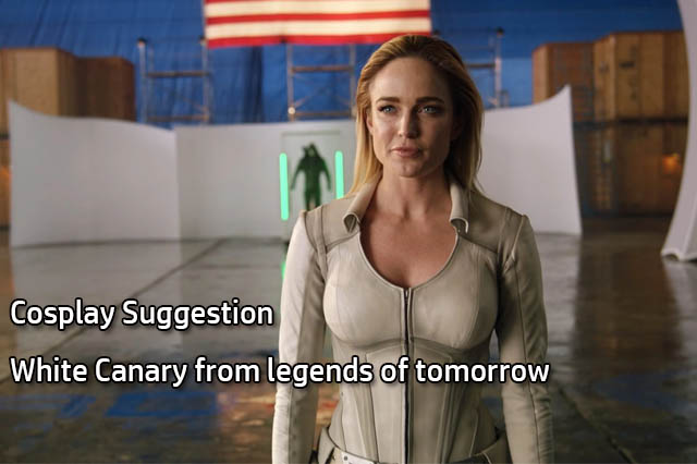 Female Superhero Cosplay Suggestion - White Canary from legends of tomorrow