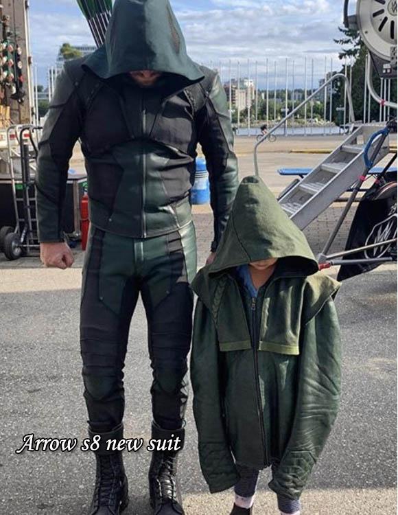 Arrow s8 new suit